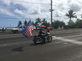 Flags of Guam & the United States of America